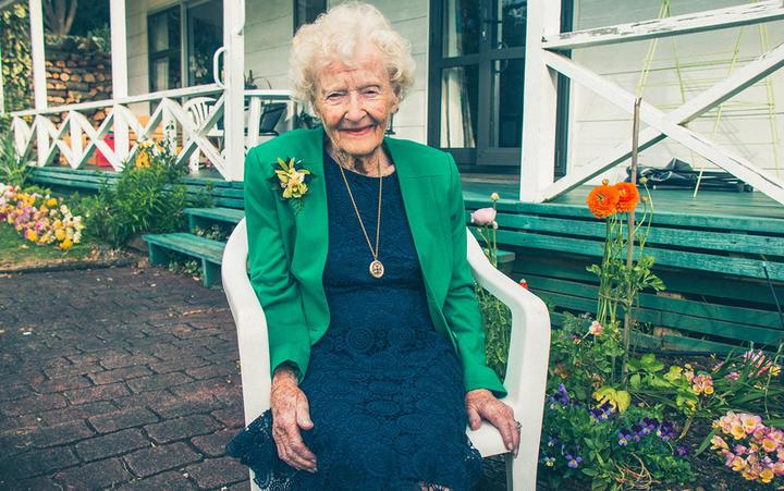 Nana Joy is a stylish dame.