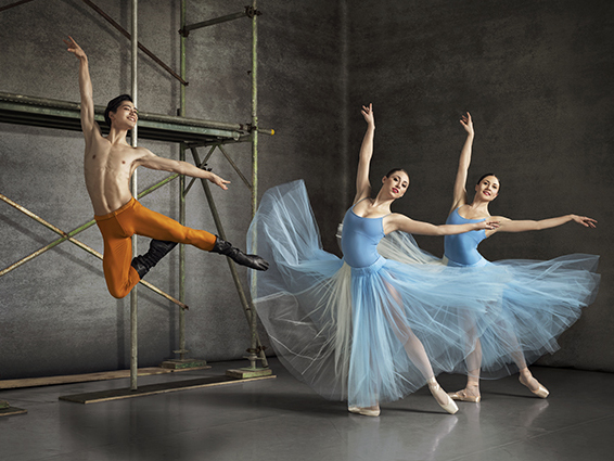 Royal NZ Ballet. Photo: Ross Brown.