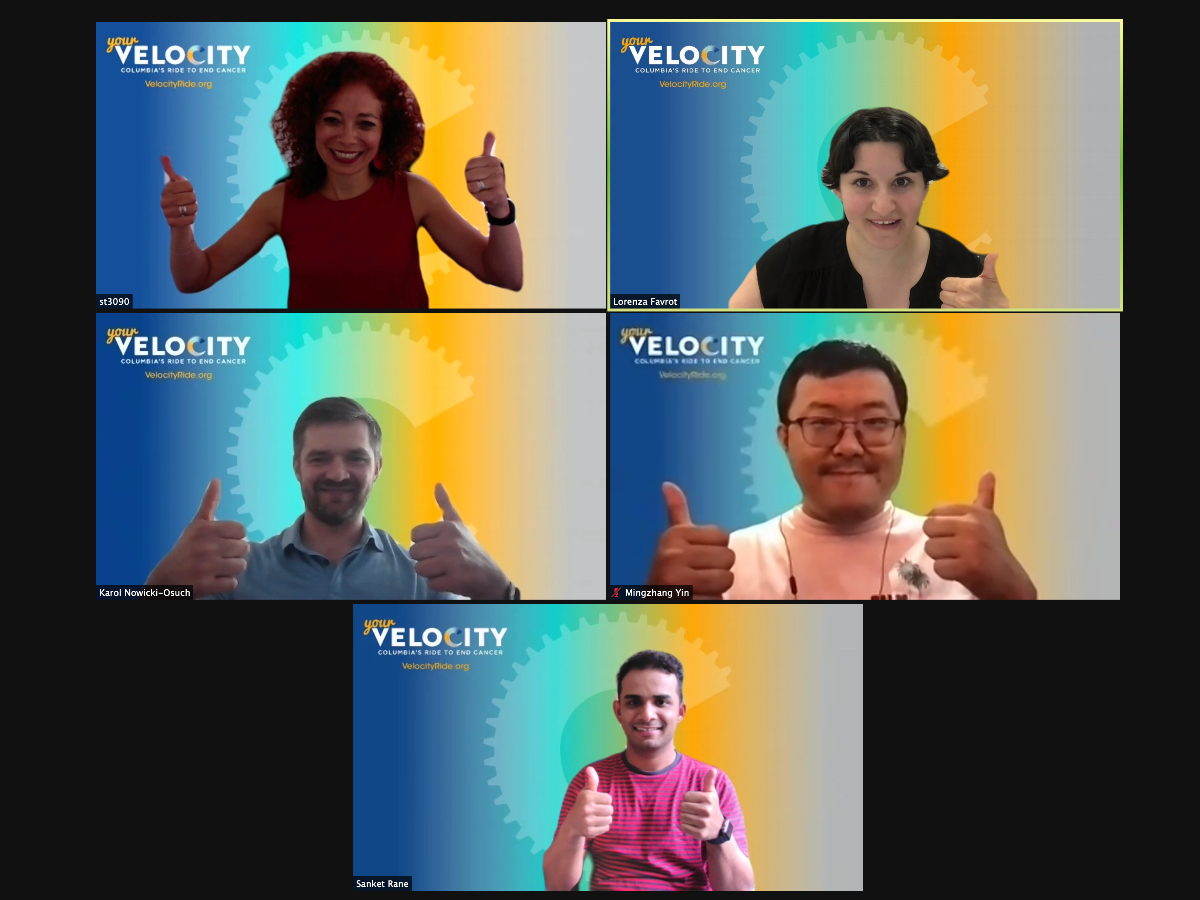 Five IICD Velocity Team Members