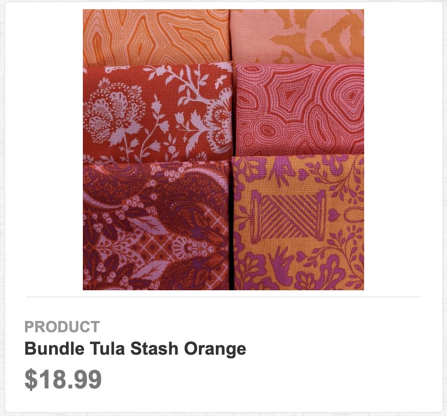 Tula Stash Orange
