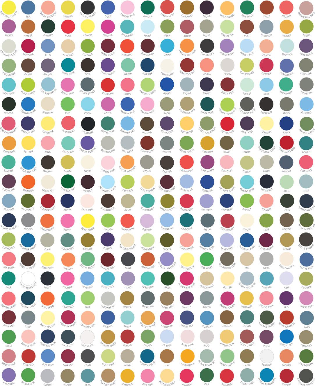 My Favorite Color is Moda Dot Multi