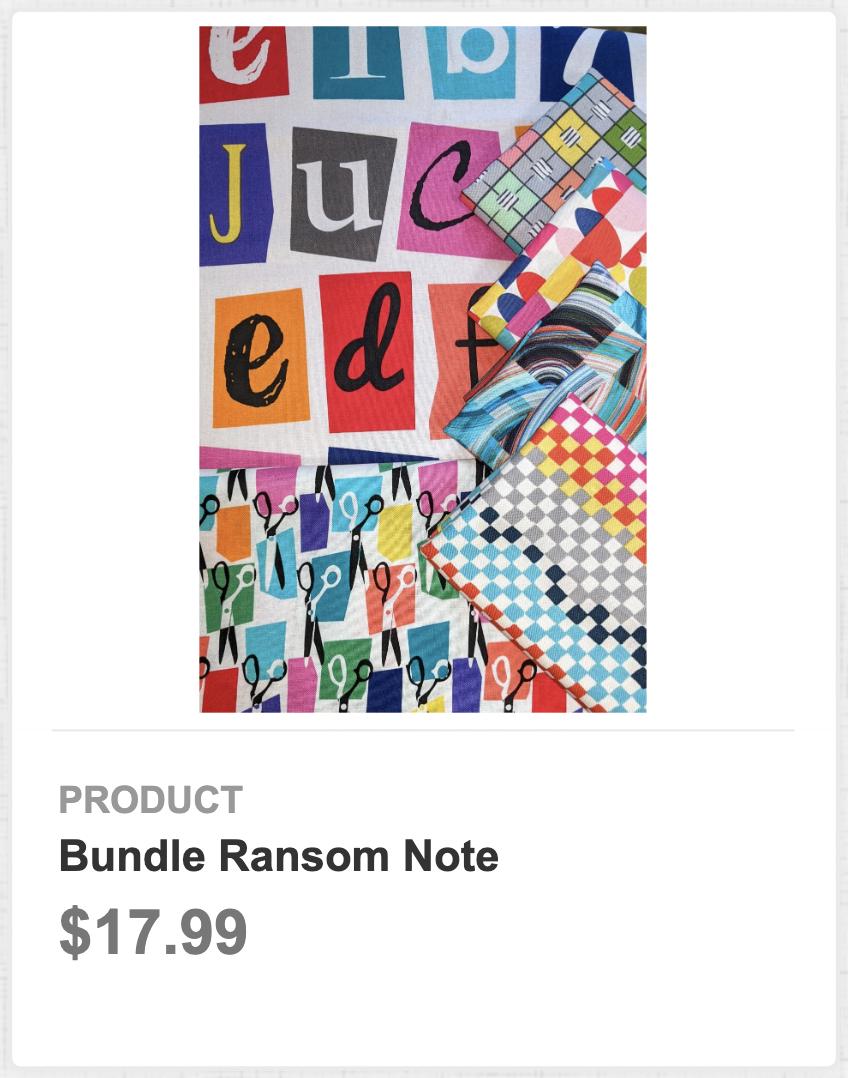 Bundle Ransom Note