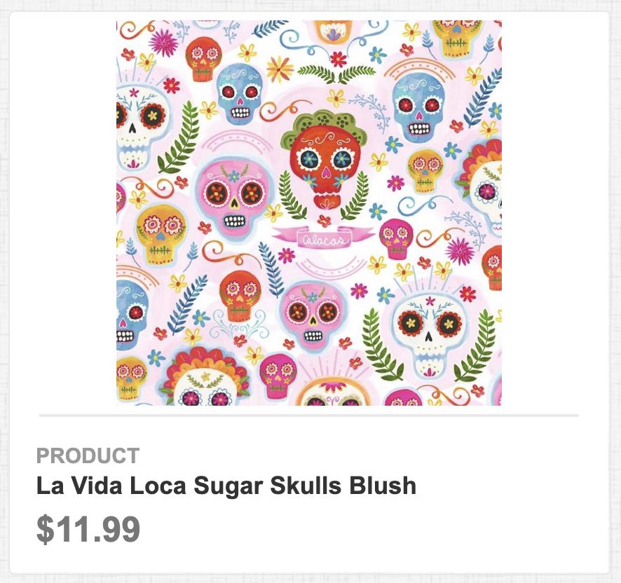 La Vida Loca Sugar Skulls Blush