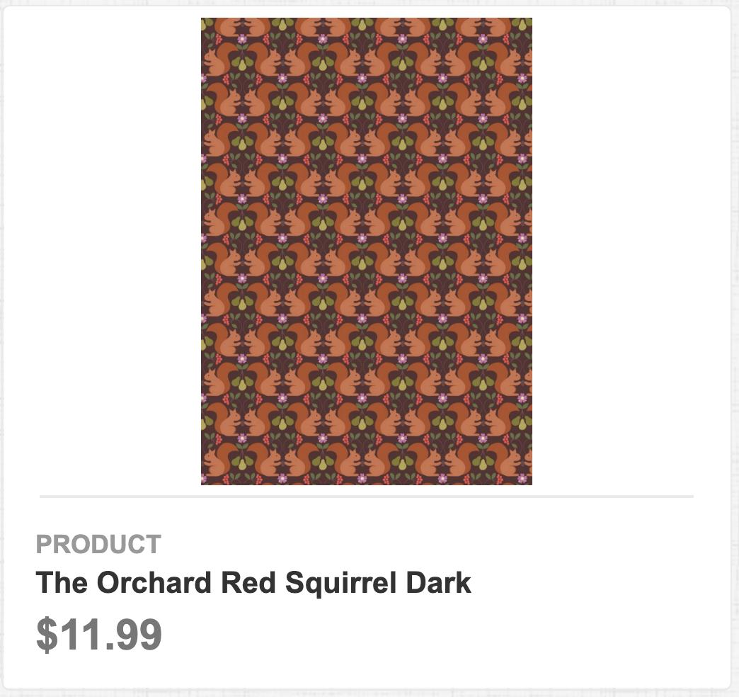 The Orchard Red Squirrel Dark
