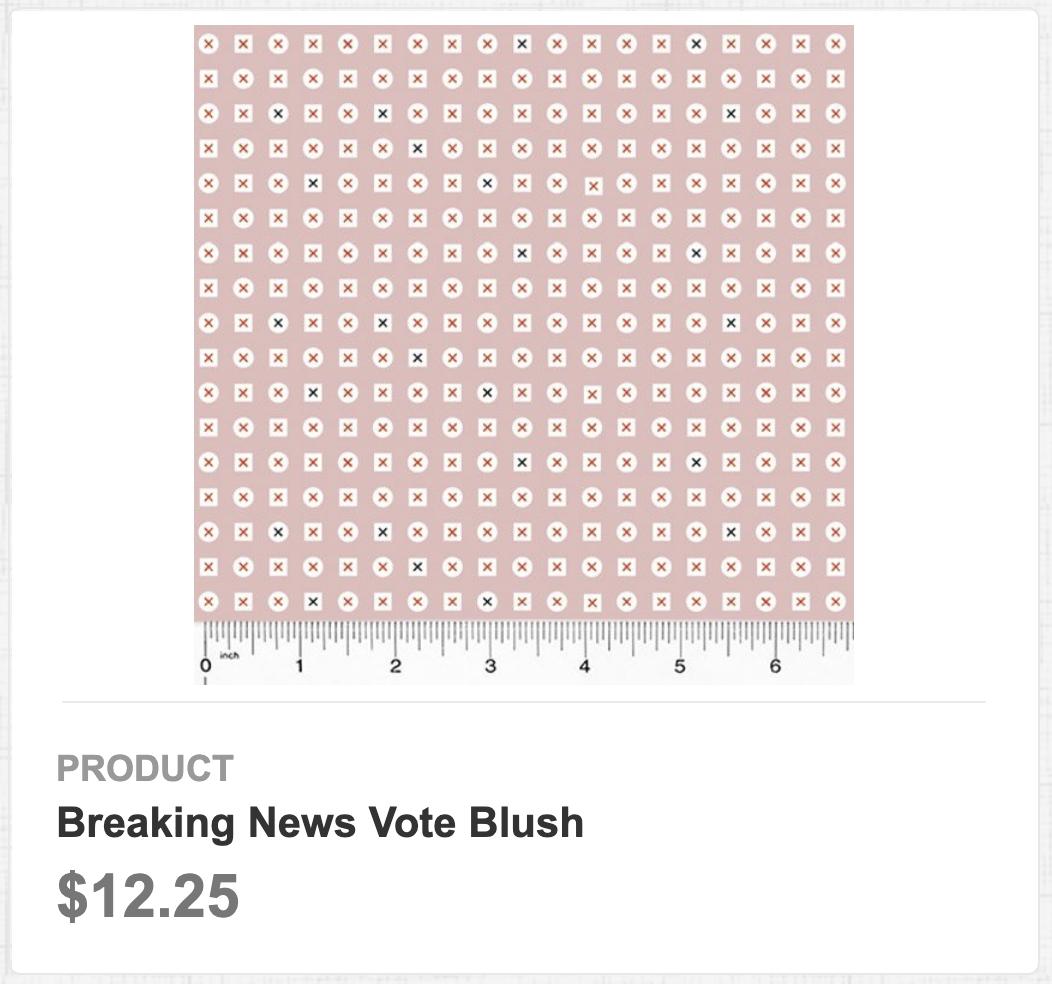 Breaking News Vote Blush