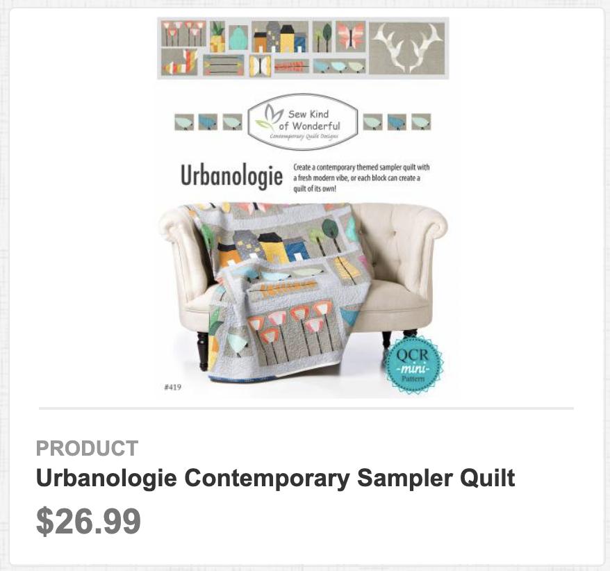 Urbanologie Contemporary Sampler Quilt