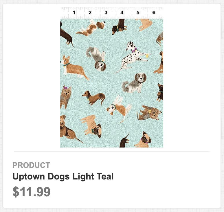 Uptown Dog Light Teal