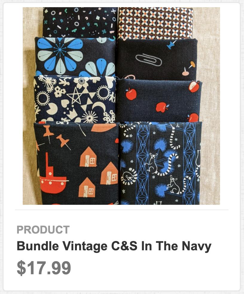 Bundle Vintage C&S In the Navy