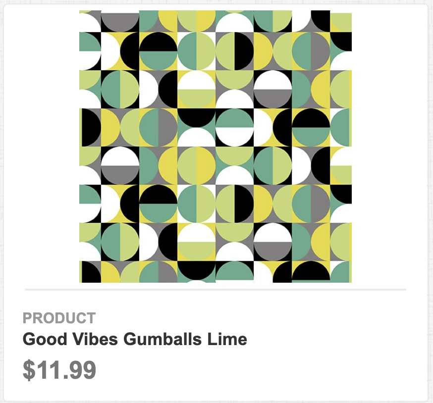 Good Vibes Gumballs Lime