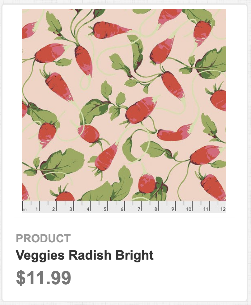 Veggies Radish Bright