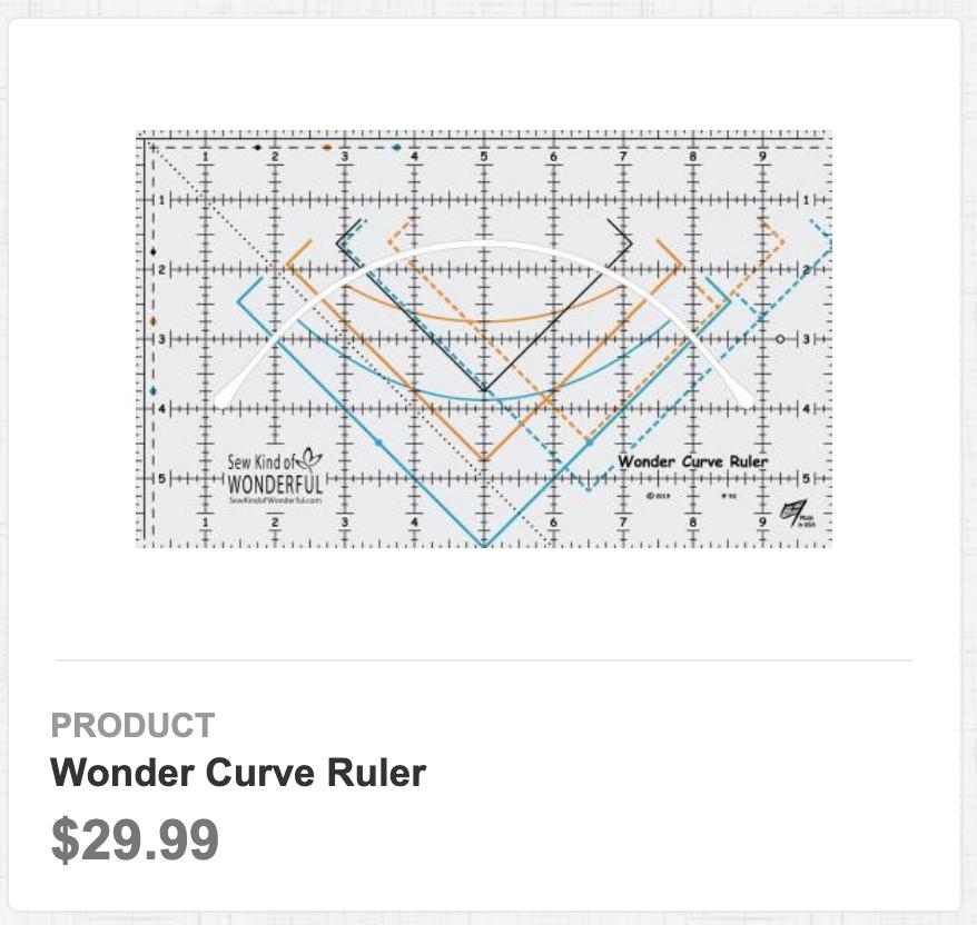 Wonder Curve Ruler
