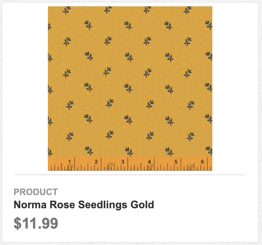 Norma Rose Seedlings Gold