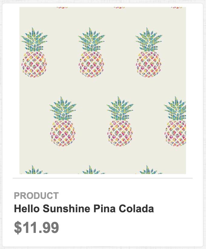 Hello Sunshine Pina Colada