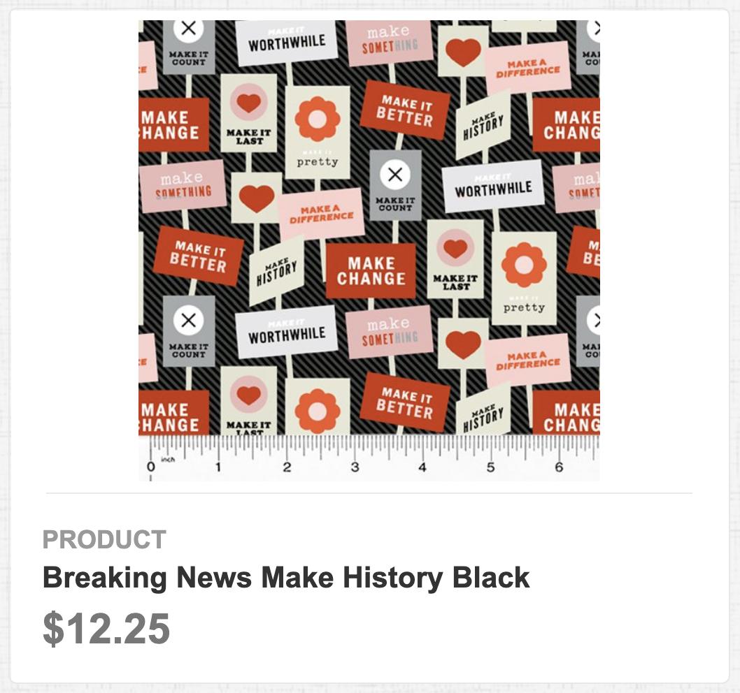 Breaking News Make History Black