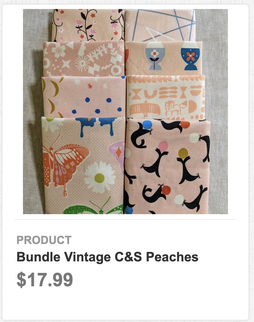 Bundle Vintage C&S Peaches