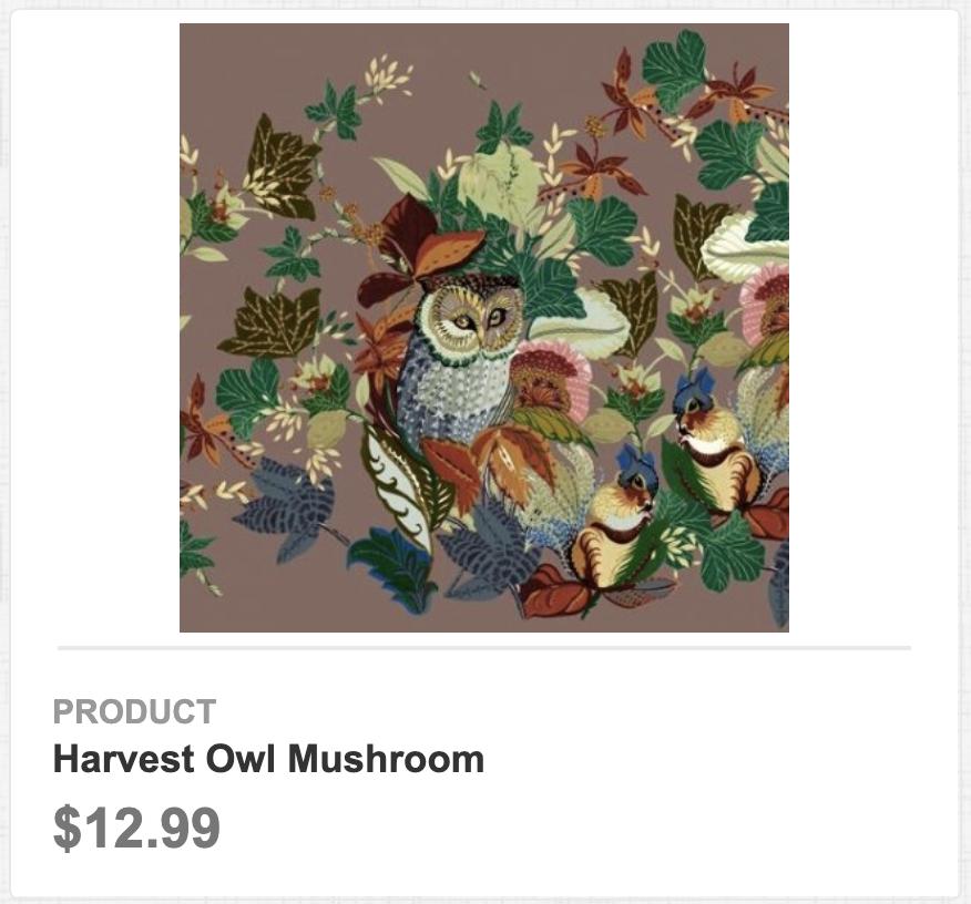 Harvest Owl Mushroom