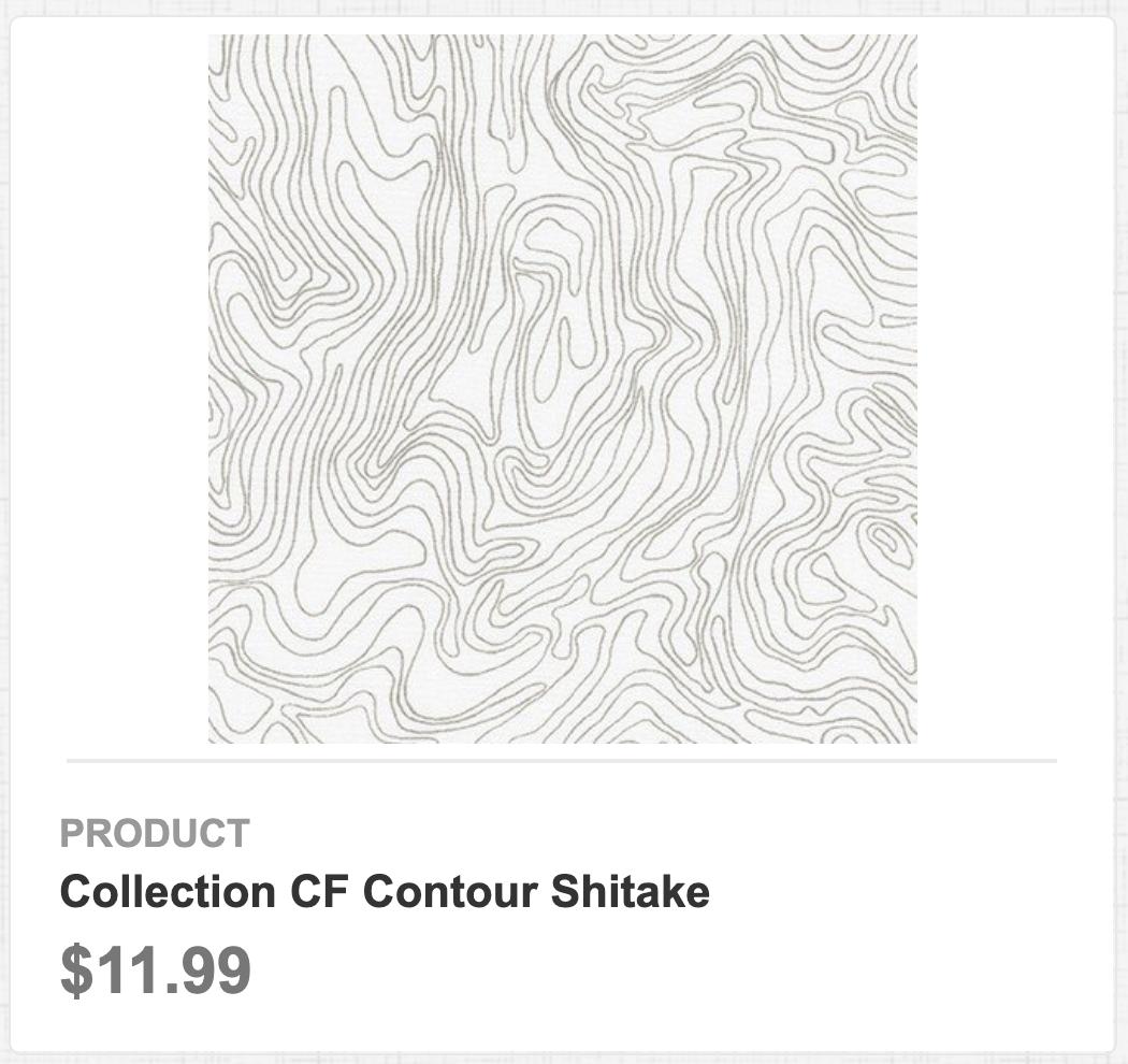 Collection CF Contour Shitake