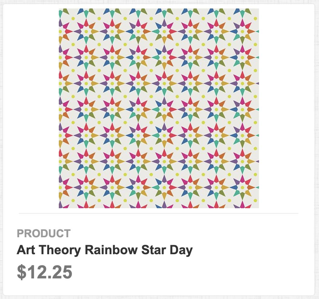 Art Theory Rainbow Star Day