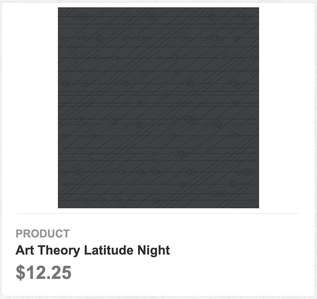 Art Theory Latitude Night