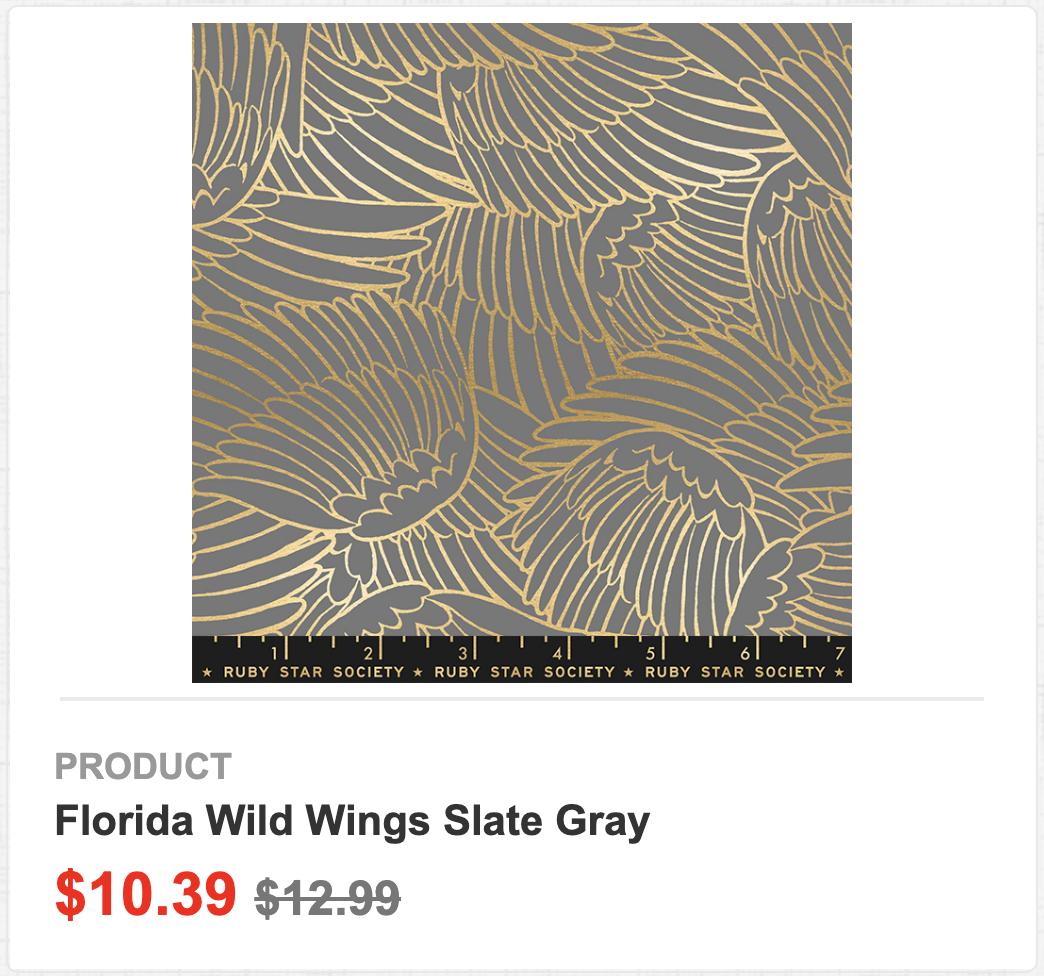 Florida Wild Wings Slate Gray