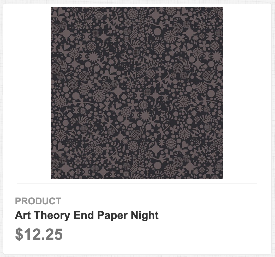 Art Theory End Paper Night