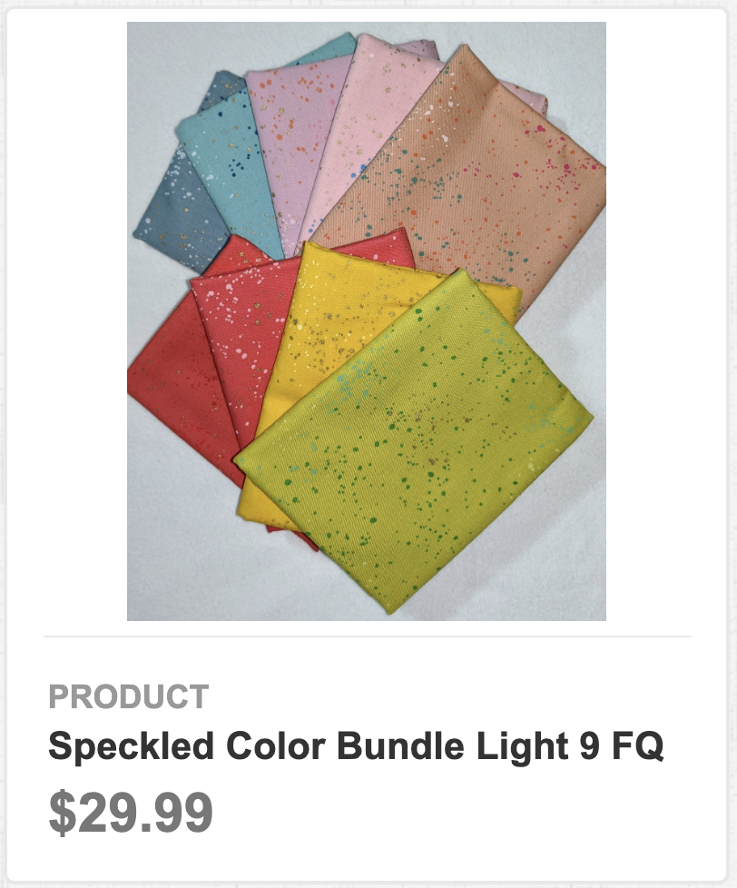 Speckled Color Bundle Light 9 FQ