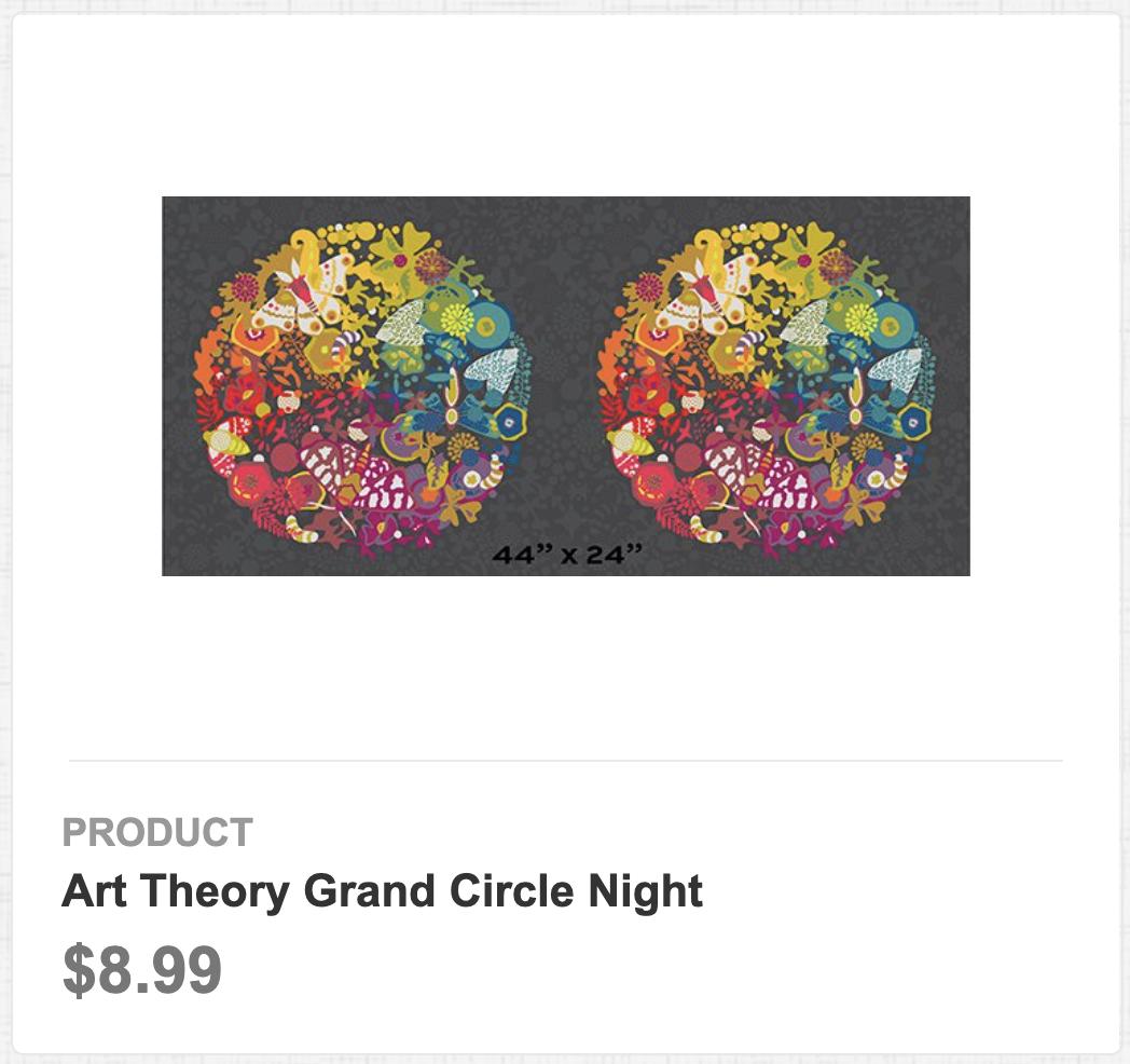 Art Theory Grand Circle Night