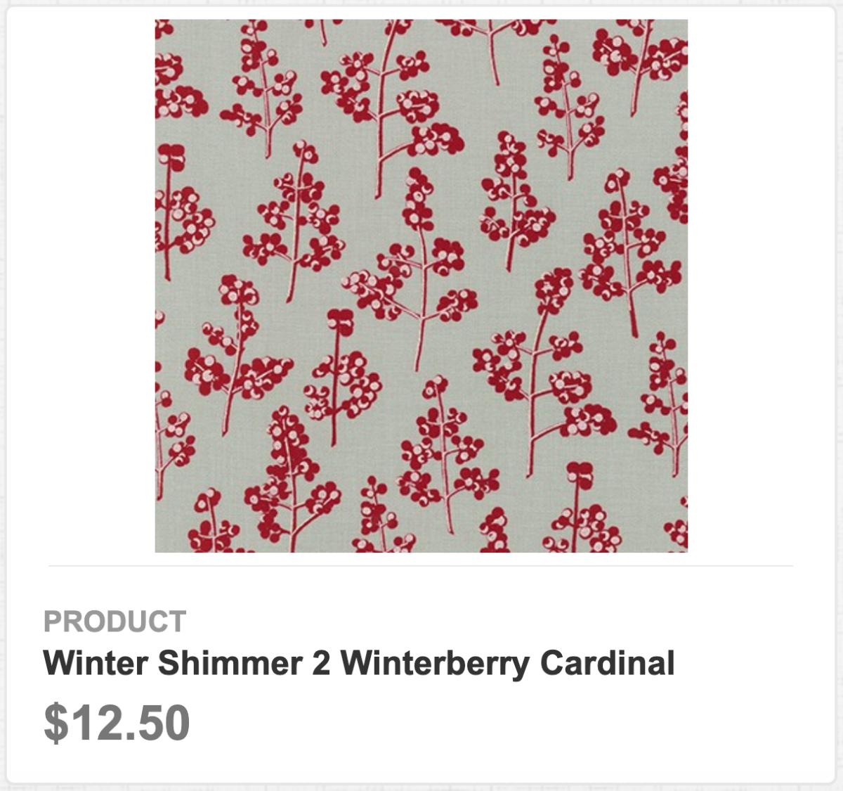 Winter Shimmer 2 Winterberry Cardinal