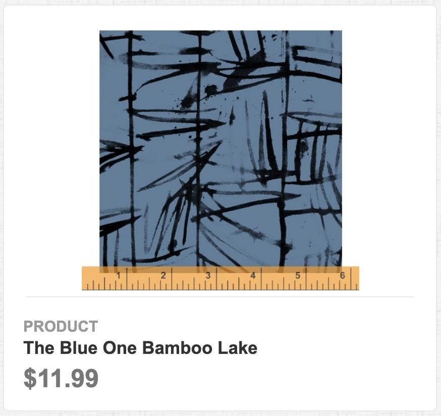The Blue One Bamboo Lake