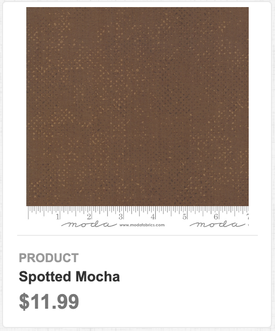 Spotted Mocha