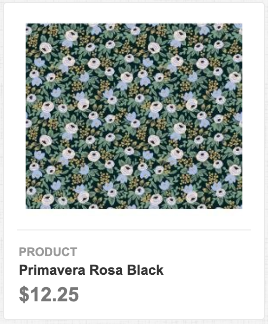 Primavera Rosa Black