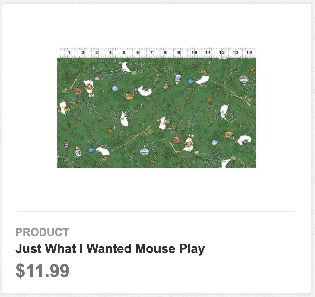 Just What I Wanted Mouse Play