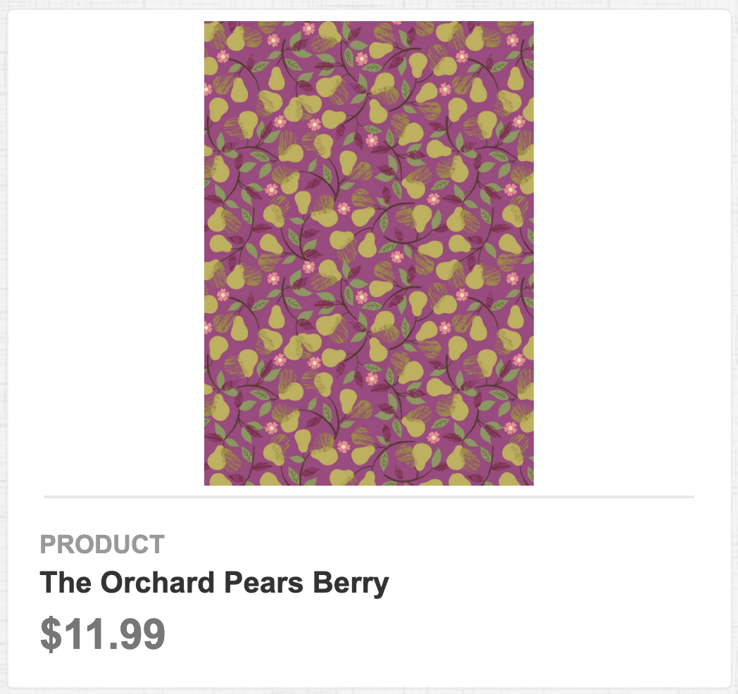 The Orchard Pears Berry