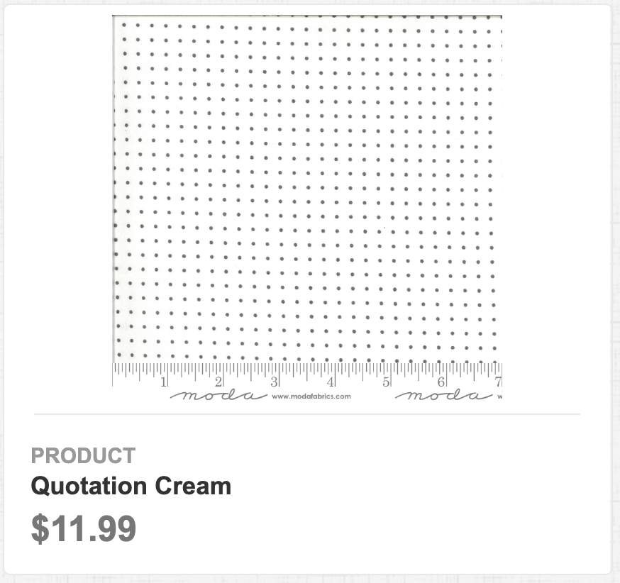 Quotation Cream