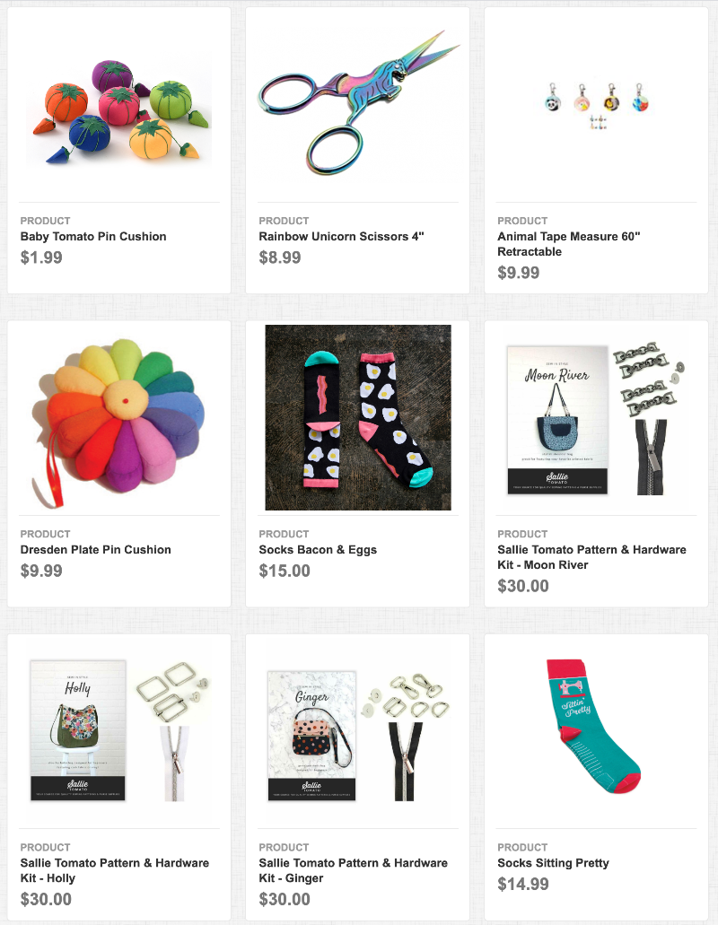 Shop Gifts at Blue Bar Quilts