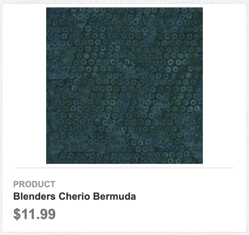 Blenders Cherio Bermuda