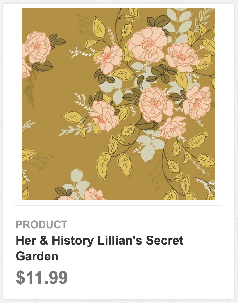 Her & History's Lillian's Secret Garden
