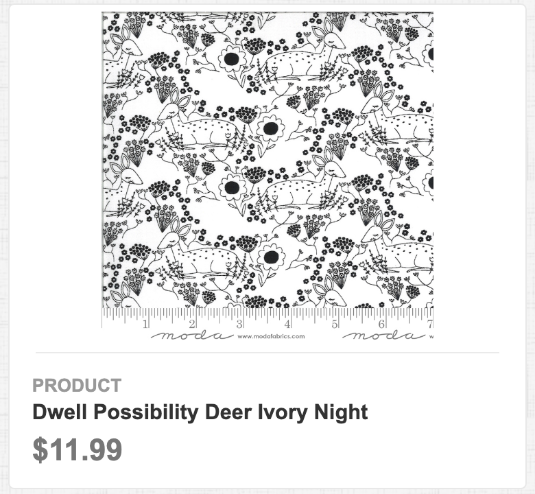 Dwell Possibility Deer Ivory Night