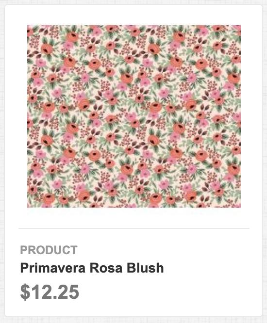 Primavera Rosa Blush