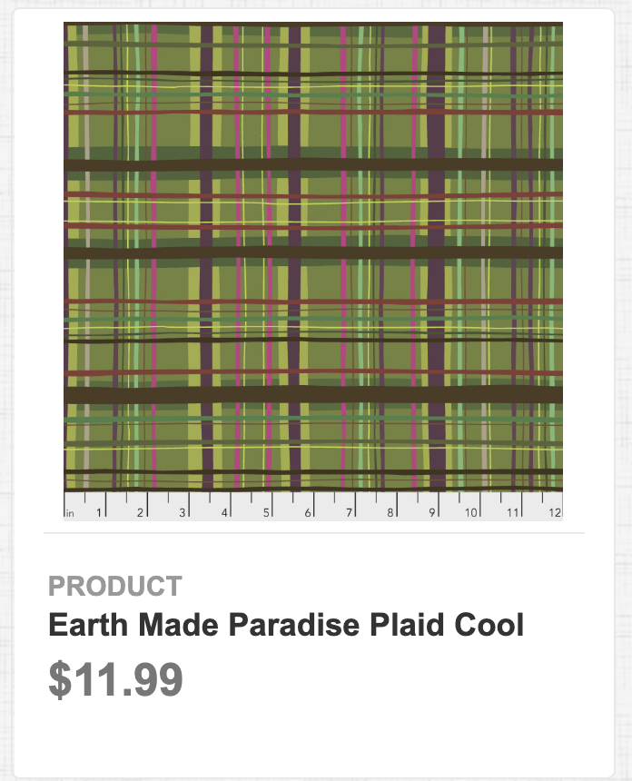 Earth Made Paradise Plaid Cool