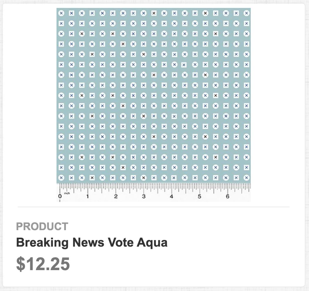 Breaking News Vote Aqua