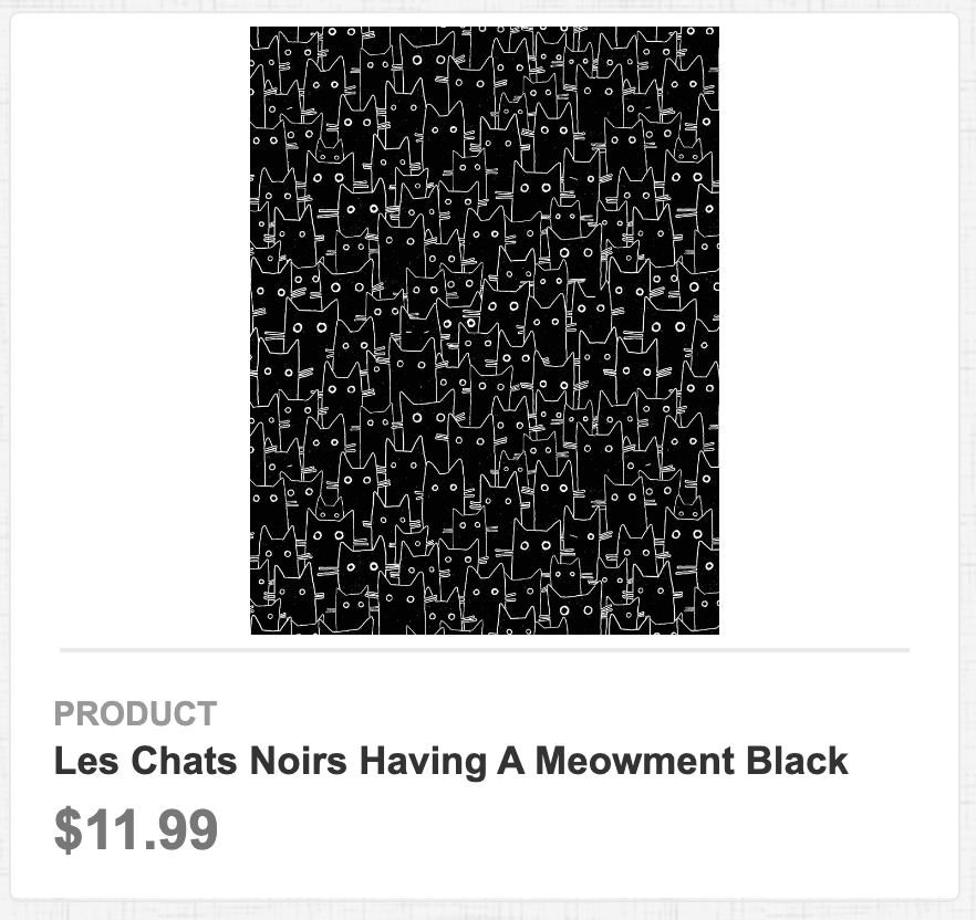 Les Chats Noirs Having A Meowment Black