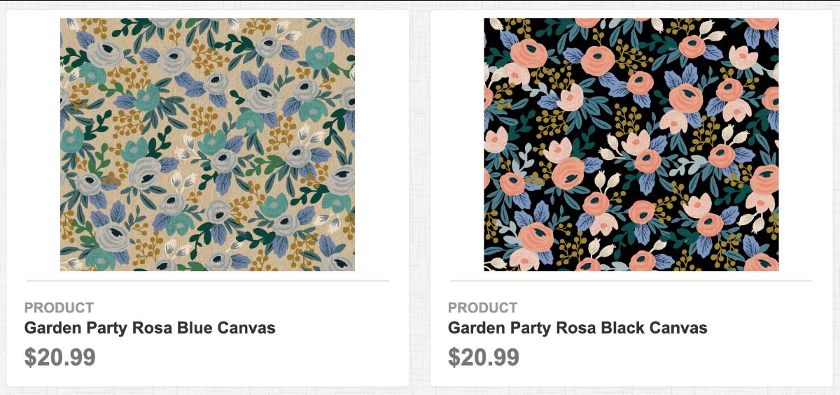 Garden Party Canvas