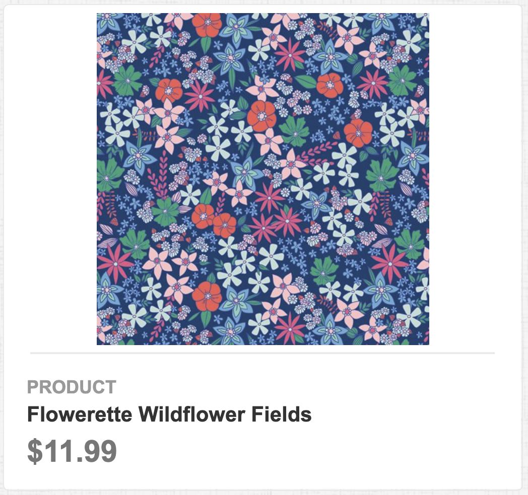 Flowerette Wildflower Fields