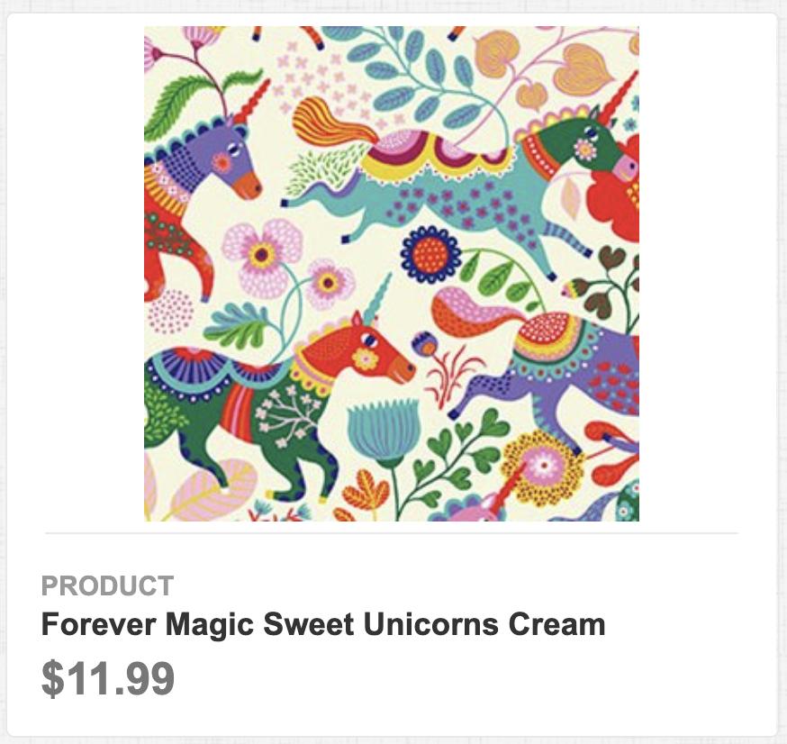 Forever Magic Sweet Unicorns Cream