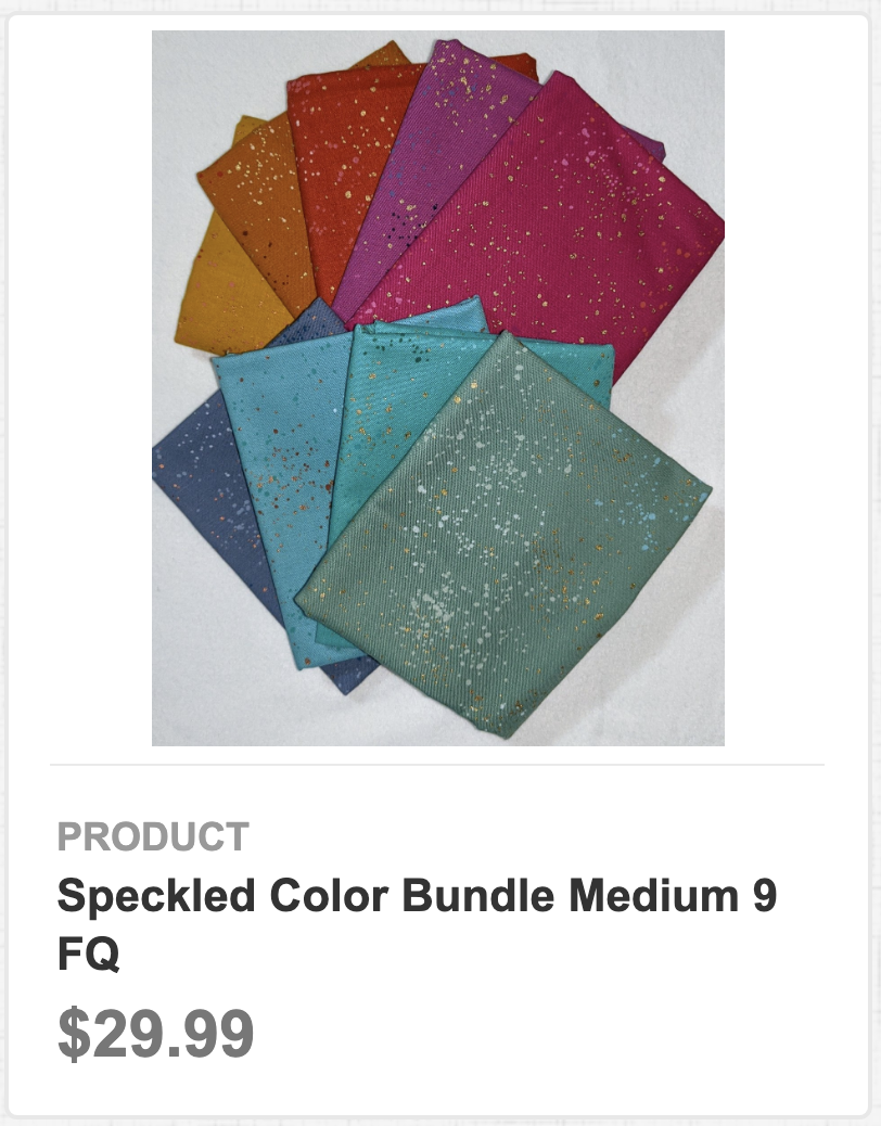 Speckled Color Bundle Medium 9 FQ