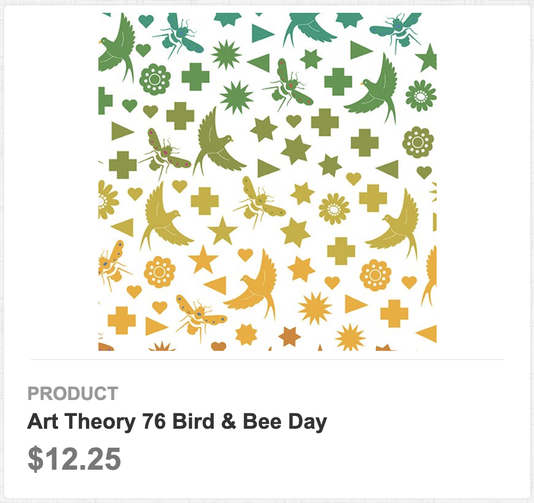 Art Theory 76 Bird & Bee Day