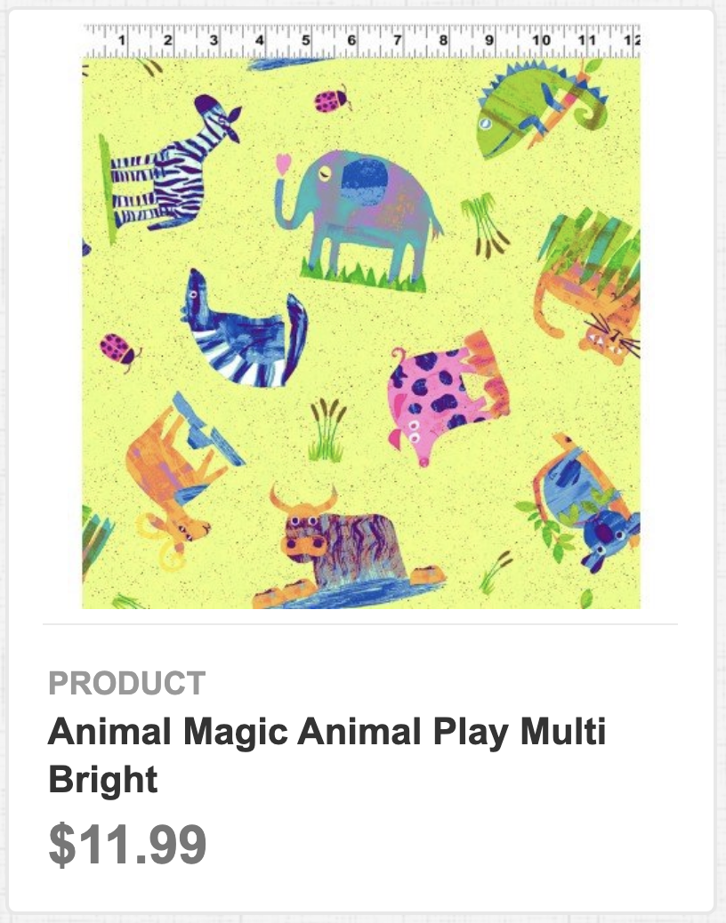 Animal Magic Animal Play Multi Bright