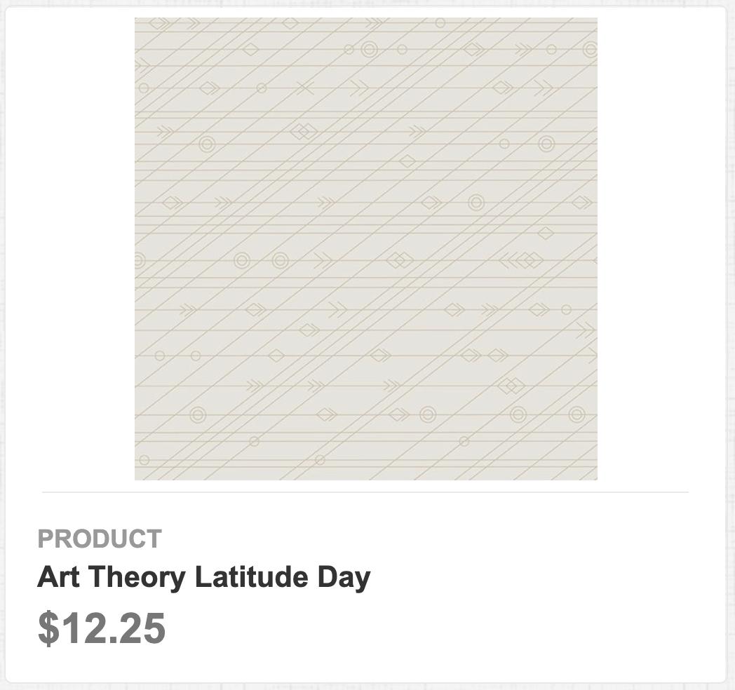 Art Theory Latitude Day