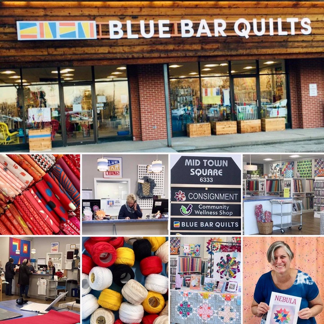 Shop Blue Bar Quilts